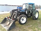 Tractor For Sale:  1998 New Holland TN75S , 75 HP