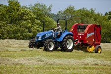 New Holland ROLL BELT 450 Baler-Round For Sale