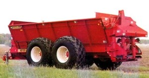 Meyer 8865 Manure Spreader-Dry/Pull Type For Sale