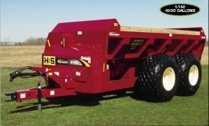 H & S TS 5142 Manure Spreader-Dry/Pull Type For Sale