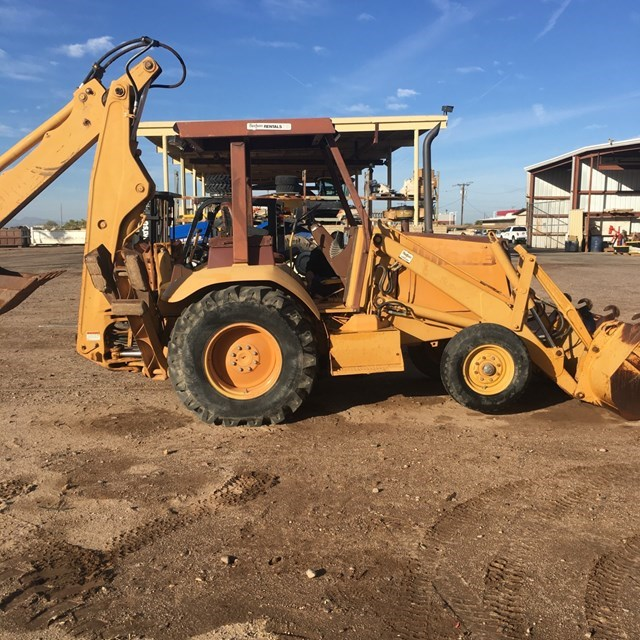 1991 Case 580SK Loader Backhoe For Sale