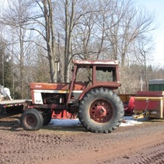 Tractor For Sale IH 1566 , 161 HP