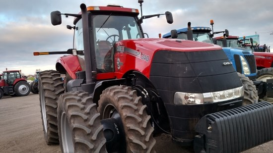 2013 Case IH 340 MAGPS Tractor For Sale