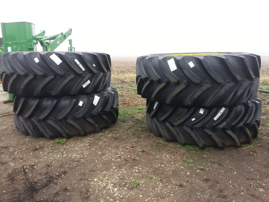 2015 Goodyear 710/60R46 Wheels and Tires For Sale