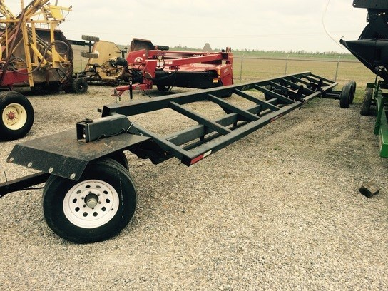 2009 Maurer Ht38 Header Trailer For Sale