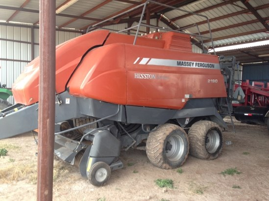 2009 Massey Ferguson 2190 Baler-Big Square For Sale