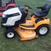 Riding Mower For Sale:  2012 Cub Cadet GTX2100 , 23 HP