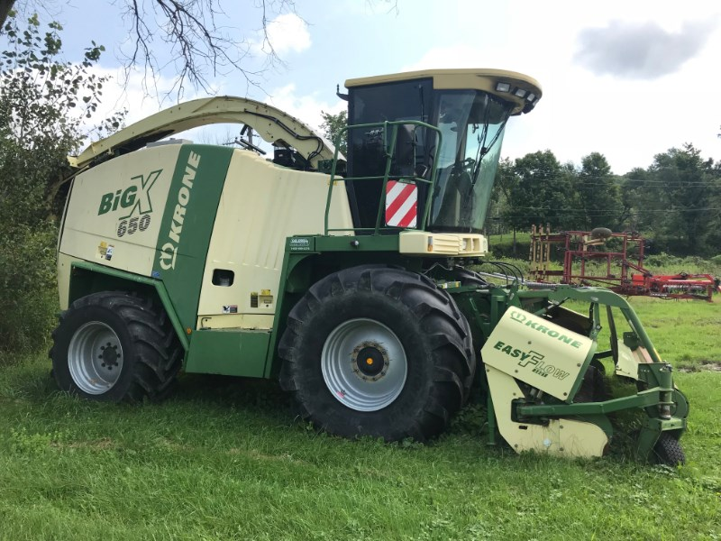 2008 Krone Big X 650 Forage Harvester-Self Propelled For Sale