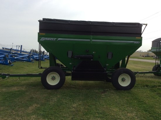 Brent 557  W/ TARP Gravity Box For Sale