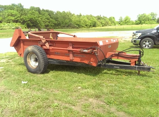 Ih Manure Spreader : Photos of case ih manure spreader dry pull type for