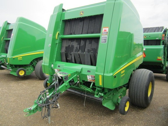 2014 John Deere 569 Prem Baler-Round For Sale