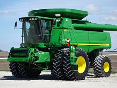 Combine For Sale 2010 John Deere 9870STS