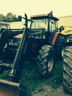 Tractor For Sale 2004 Case IH MXM140 , 115 HP