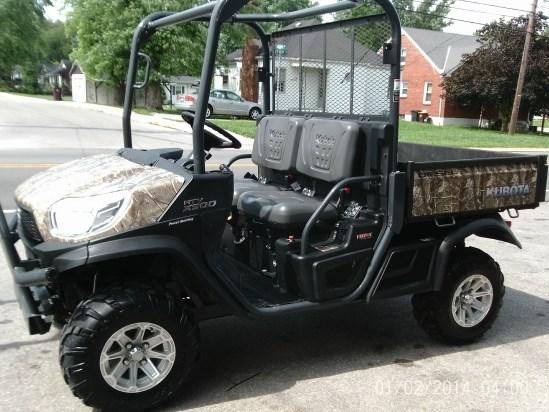 2014 Kubota X900 Utility Vehicle For Sale