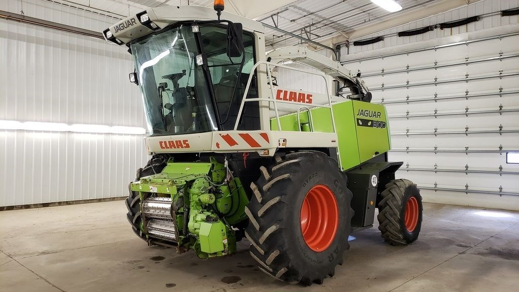 2009 Claas 900 GE Forage Harvester-Self Propelled For Sale