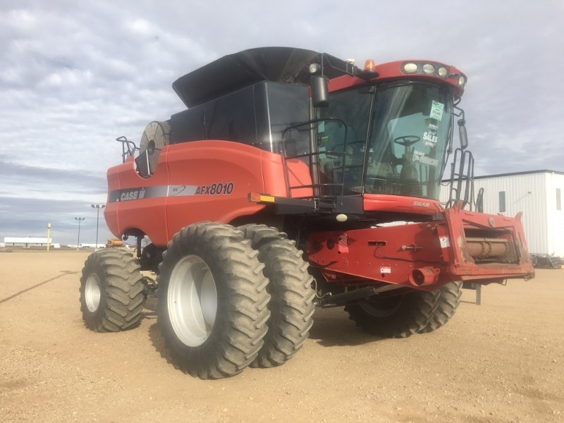2005 Case IH 8010, 1425 Sep Hr, RWA, FT, RT, Bin Ext, Dlx Cab Cosechadoras a la venta
