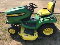 Riding Mower For Sale 2010 John Deere X540 , 23 HP