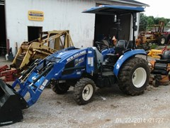 Tractor For Sale 2014 New Holland BOOMER 33 W/250TLA , 33 HP