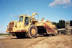 Scraper-Self Propelled For Sale 1986 Caterpillar 637E AUGER , 700 HP