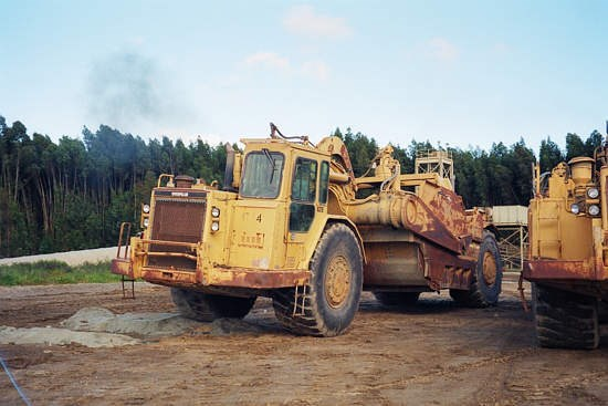 1990 Caterpillar 637E AUGER Scraper-Self Propelled For Sale