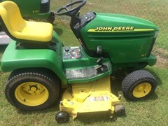 Riding Mower For Sale:  2001 John Deere 345 , 20 HP