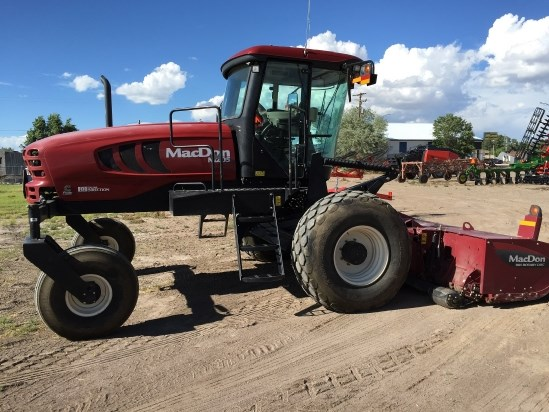 2013 MacDon M205 Windrower-Self Propelled For Sale