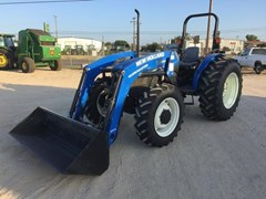 Tractor For Sale:  2010 New Holland Workmaster 75 , 75 HP