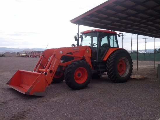 2011 Kubota M126XDTC Tractor For Sale