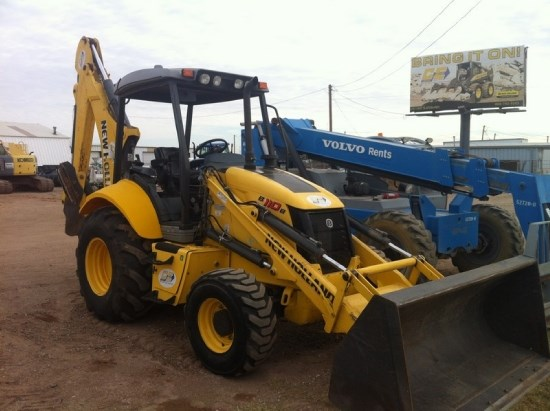 2011 New Holland B110 Loader Backhoe