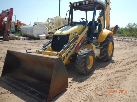 2010 New Holland B110B Loader Backhoe