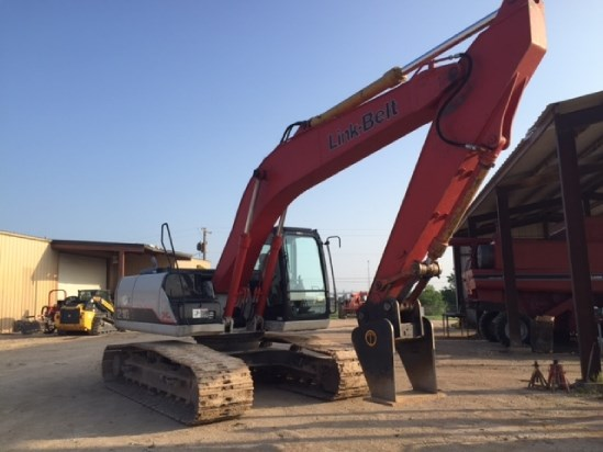2011 Link Belt 210X2EX Excavator-Track