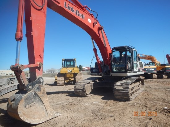 2011 Link Belt 350X3EX Excavator-Track