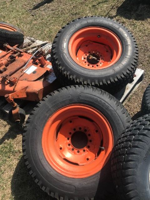 Kubota B7200HST Wheels and Tires For Sale