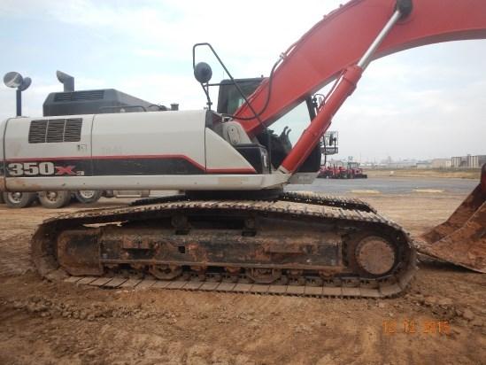2012 Link Belt 350X3EX Excavator-Track