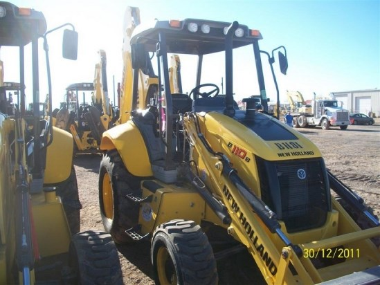 2011 New Holland B110B Loader Backhoe