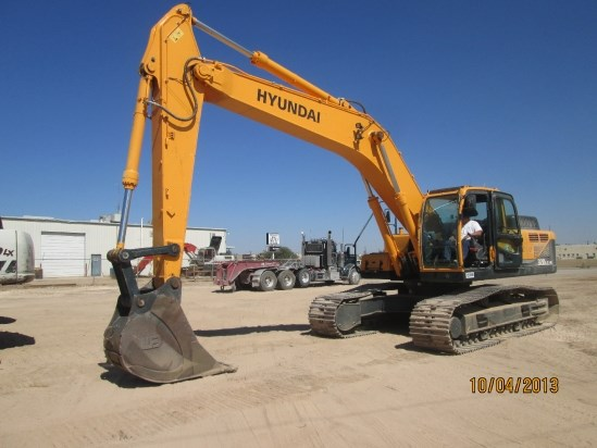 2012 Hyundai R320LC-9 Excavator-Track