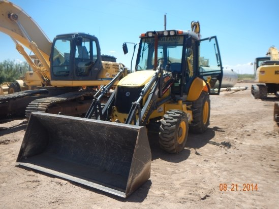 2012 New Holland B95TC Loader Backhoe