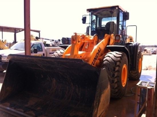 2012 Hyundai HL750-9 Wheel Loader