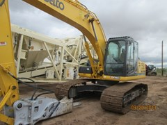 Excavator-Track  2012 Kobelco SK210