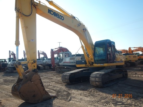 2013 Kobelco SK295 Excavator-Track