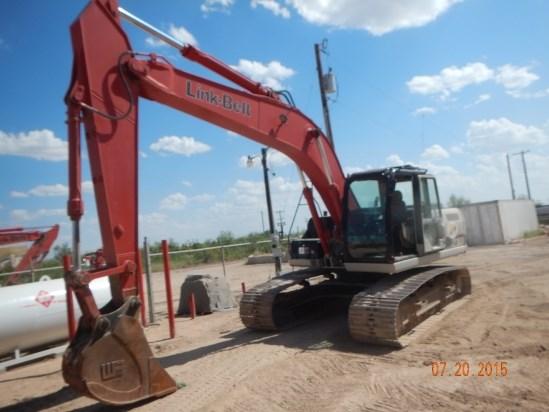 2012 Link Belt 210X2EX Excavator-Track