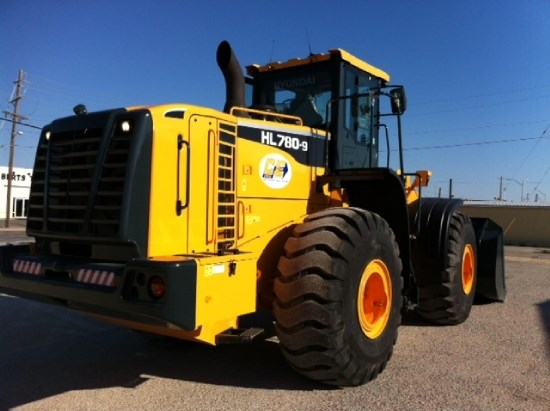 2013 Hyundai HL780 Wheel Loader
