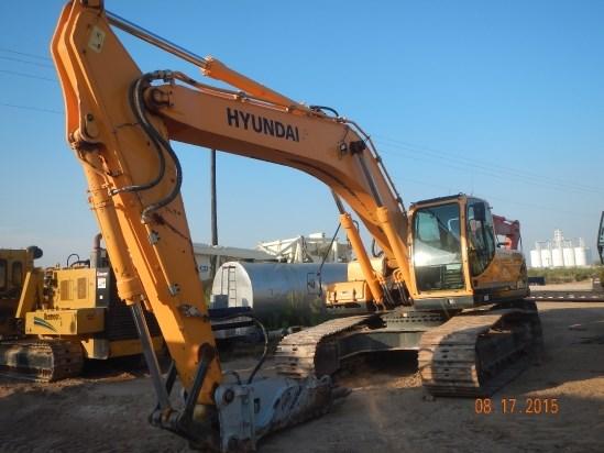 2013 Hyundai R290LC-9 Excavator-Track