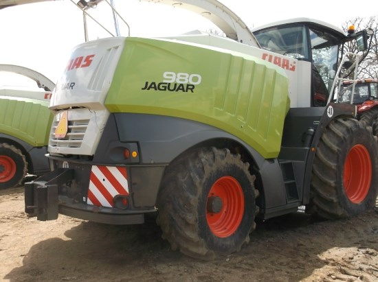 2007 Claas 980 Forage Harvester-Self Propelled For Sale