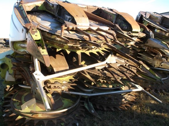 2009 Claas ORBIS 750 Forage Head-Row Crop For Sale