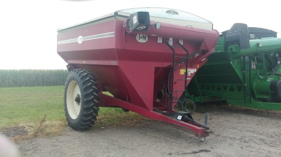 2002 J & M 750-16 Grain Cart For Sale
