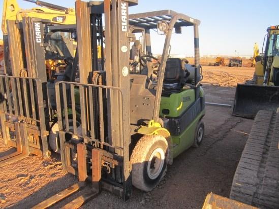 2012 Clark  C25 Lift Truck/Fork Lift-Industrial
