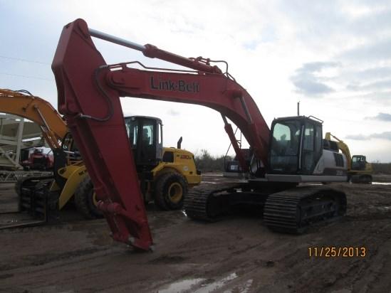 2014 Link Belt 350X3EX Excavator-Track