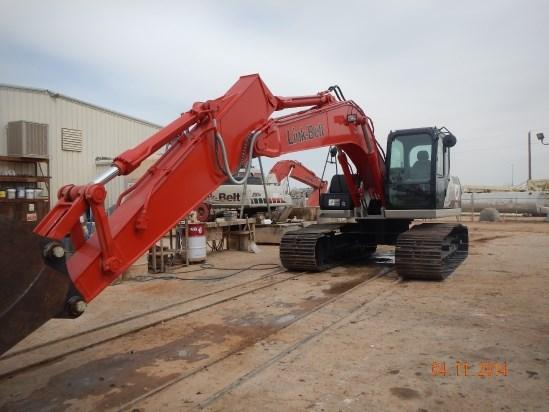 2014 Link Belt 210X3EX Excavator-Track