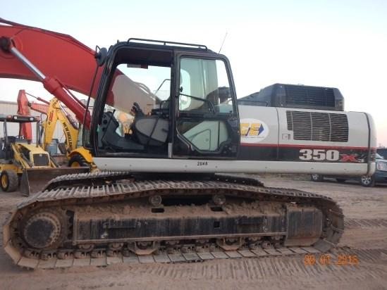 2013 Link Belt 350X3EX Excavator-Track